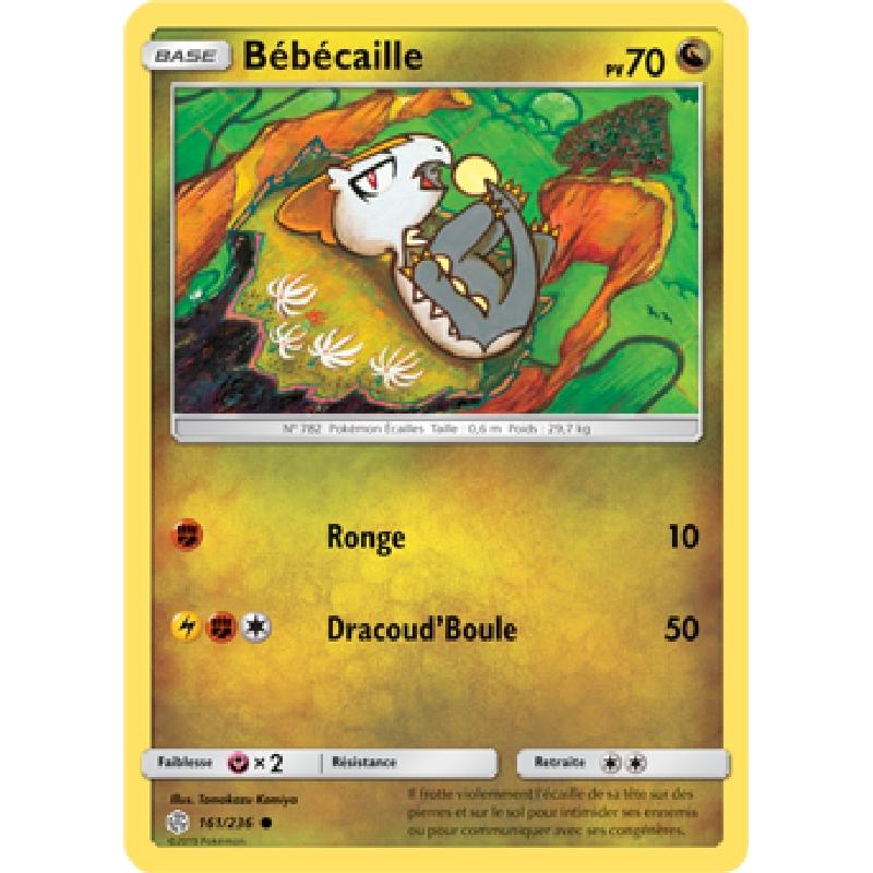 Bébécaille 161/236 PV70 Carte Pokémon™ commune VF