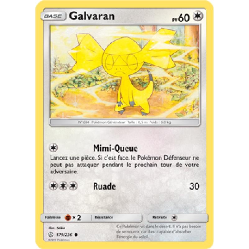 Galvaran 179/236 PV60 Carte Pokémon™ commune VF