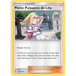 Pleine puissance de Lilie...
