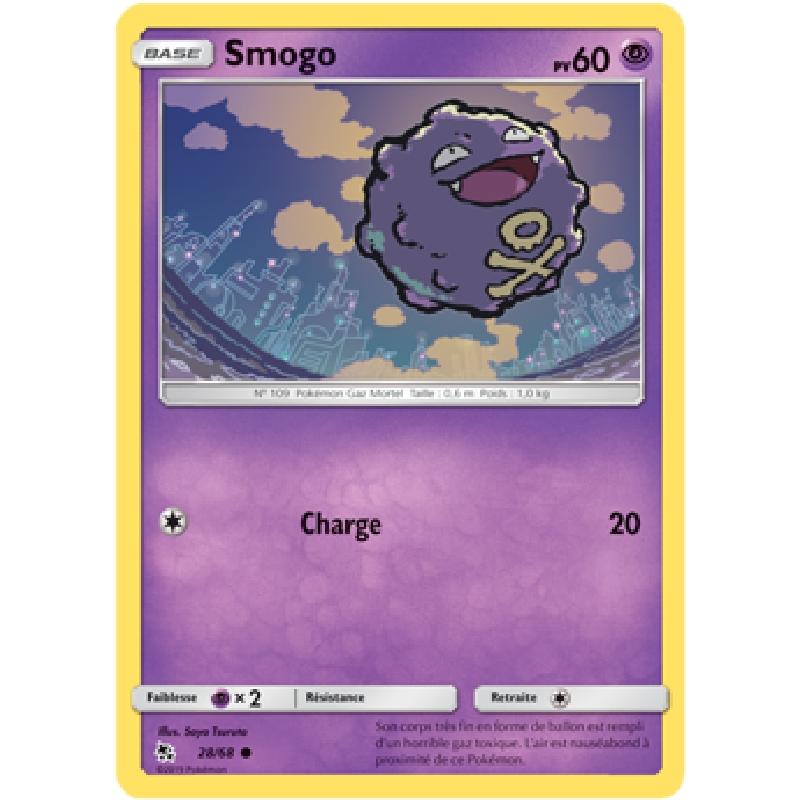 Smogo 28/68 PV60 Carte Pokémon™ commune VF