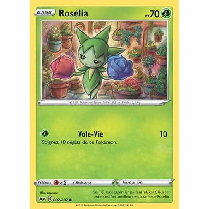 Rosélia 2/202 PV70 Carte Pokémon™ commune Neuve VF