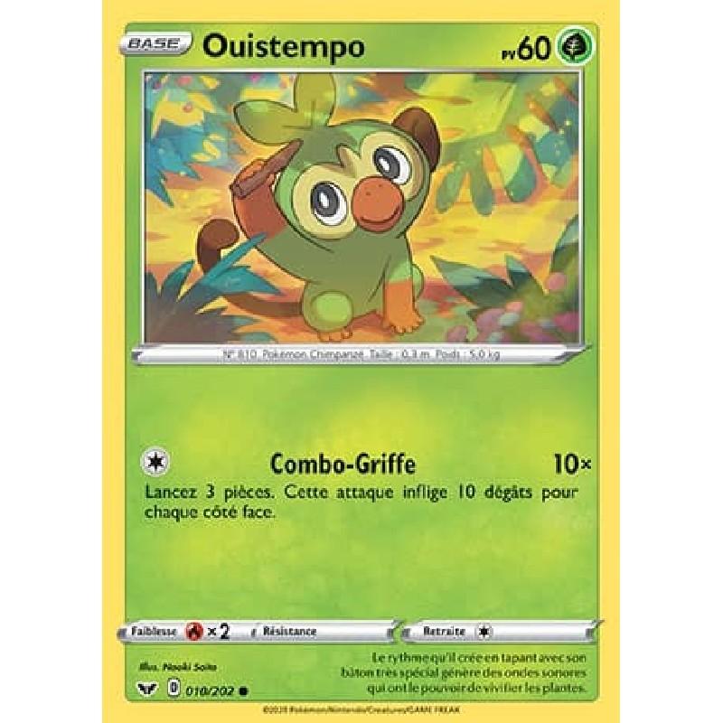 Ouistempo 10/202 PV60 Carte Pokémon™ commune Neuve VF