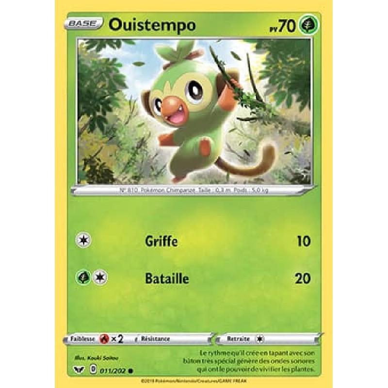 Ouistempo 11/202 PV70 Carte Pokémon™ commune Neuve VF