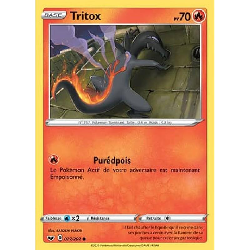 Tritox 27/202 PV70 Carte Pokémon™ commune Neuve VF