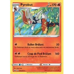 Pyrobut 35/202 PV170 Carte Pokémon™ rare holo Neuve VF