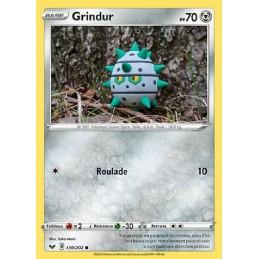 Grindur 130/202 PV70 Carte Pokémon™ commune Neuve VF