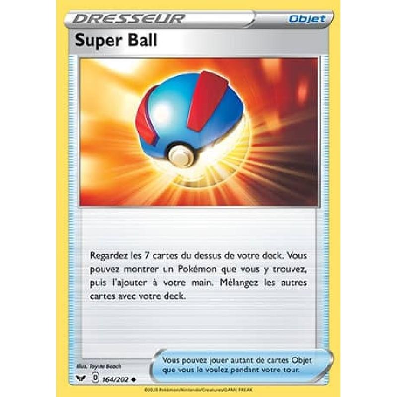 Super Ball 164/202 Carte Pokémon™ Dresseur Neuve VF