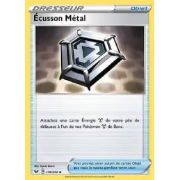 Ecusson Métal 170/202 Carte Pokémon™ Dresseur Neuve VF