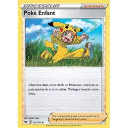 Poké Enfant 173/202 Carte...