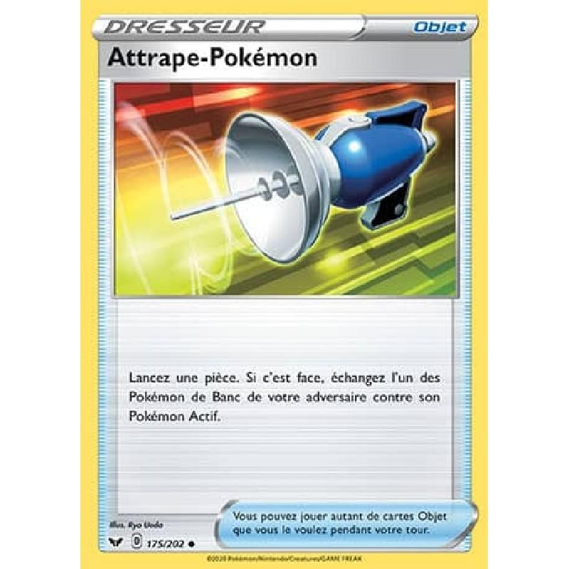 Attrape-Pokémon 175/202 Carte Pokémon™ Dresseur Neuve VF