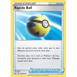 Rapide Ball 179/202 Carte...