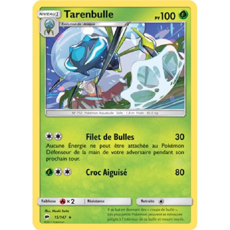 Tarenbulle 15/147 PV100 Carte Pokémon™ rare Neuve VF