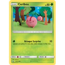 Ceribou 10/156 PV50 Carte Pokémon™ commune Neuve VF