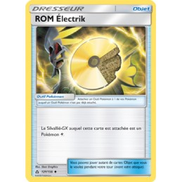 ROM Électrik 121/156 Carte...