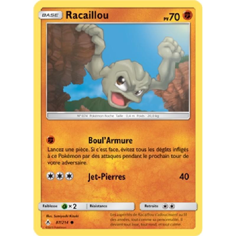 Racaillou 87/214 PV70 Carte Pokémon™ commune Neuve VF