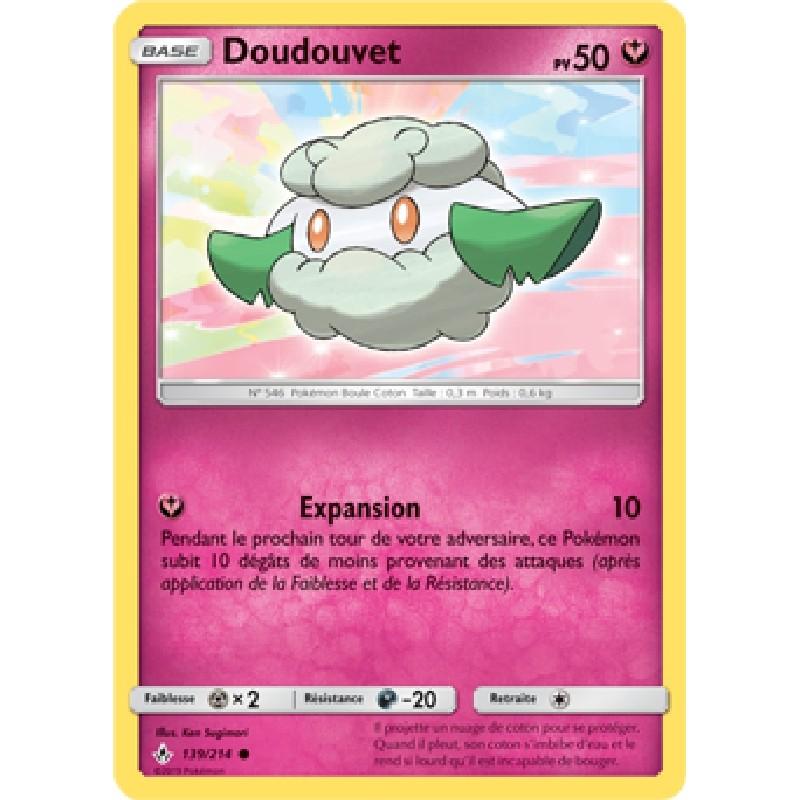 Doudouvet 139/214 PV50 Carte Pokémon™ commune Neuve VF