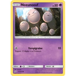Noeunoeuf 73/236 PV50 Carte...