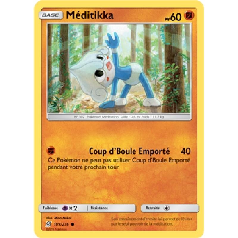 Méditikka 109/236 PV60 Carte Pokémon™ commune Neuve VF