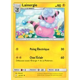 Lainergie 42/181 PV90 Carte Pokémon™ peu commune Neuve VF