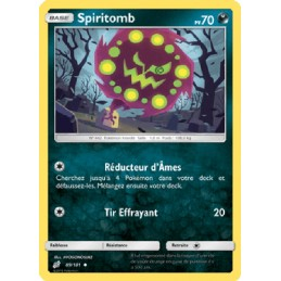 Spiritomb 89/181 PV70 Carte...