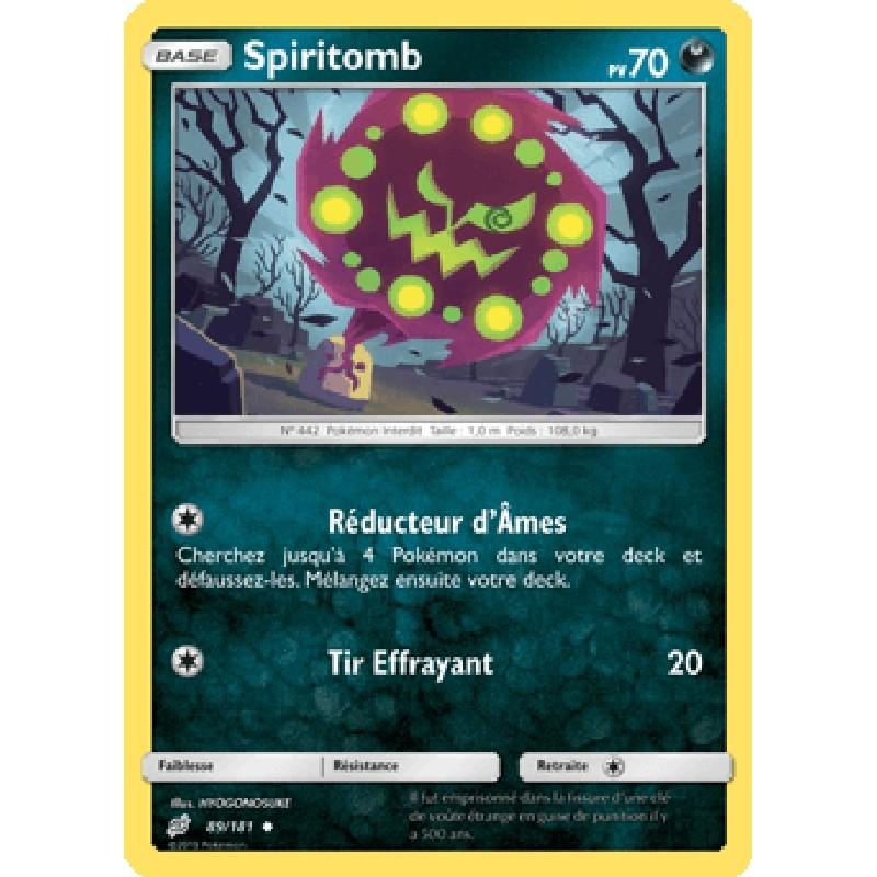 Spiritomb 89/181 PV70 Carte Pokémon™ peu commune Neuve VF