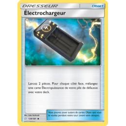 Électrochargeur 139/181 Carte Pokémon™ Dresseur Neuve VF