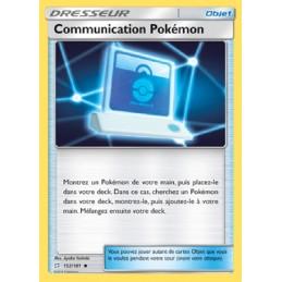 Communication Pokémon...