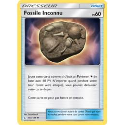 Fossile Inconnu 155/181...
