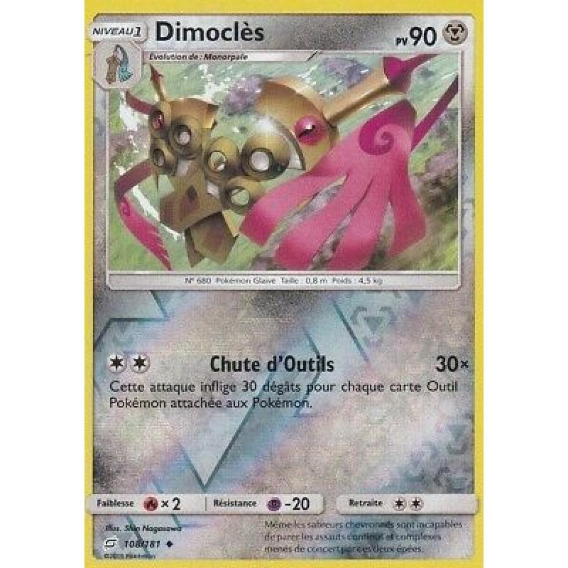 Dimoclès 108/181 PV90 Carte Pokémon™ Reverse peu commune Neuve VF