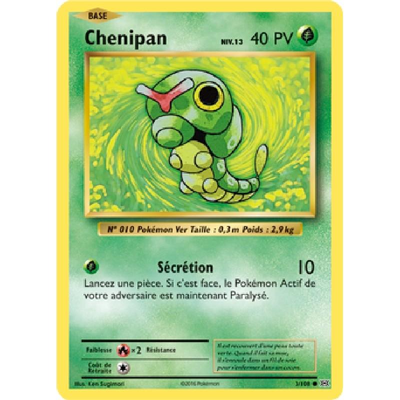 Chenipan 3/108 PV40 Carte Pokémon™ commune Neuve VF