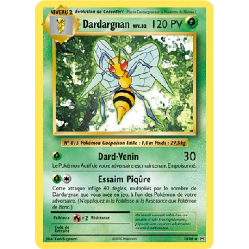 Dardargnan 7/108 PV120 Carte Pokémon™ rare Neuve VF