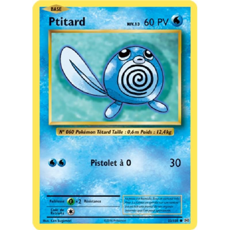 Ptitard 23/108 PV60 Carte Pokémon™ commune Neuve VF