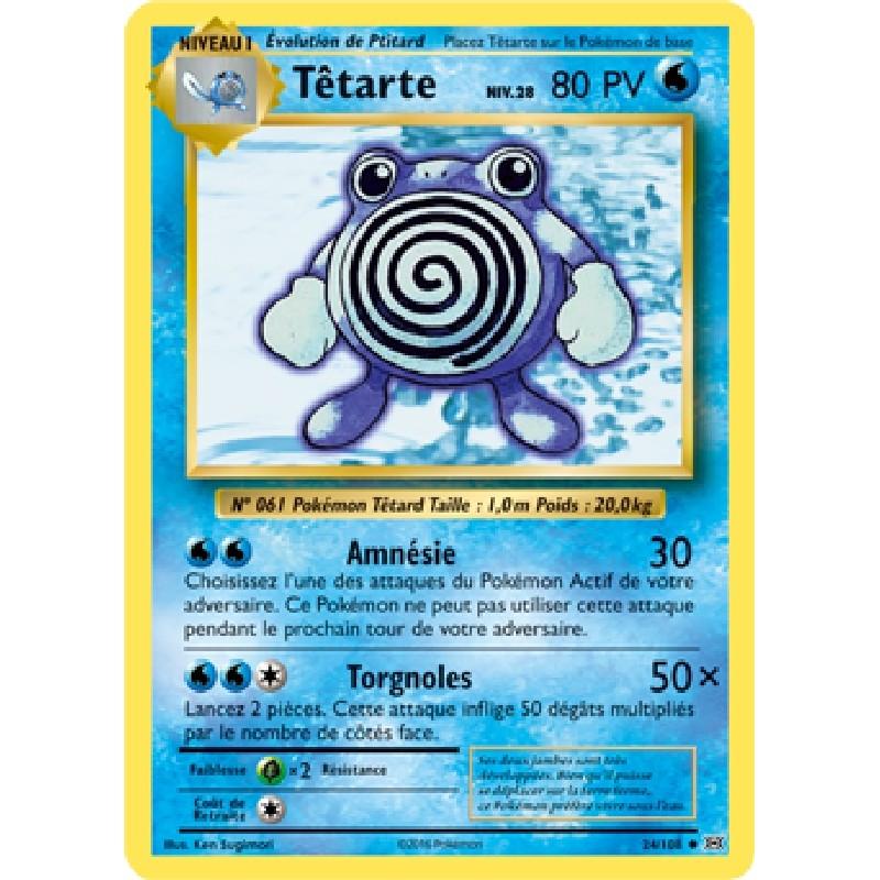 Têtarte 24/108 PV80 Carte Pokémon™ peu commune Neuve VF