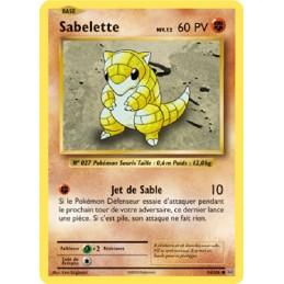 Sabelette 54/108 PV60 Carte...