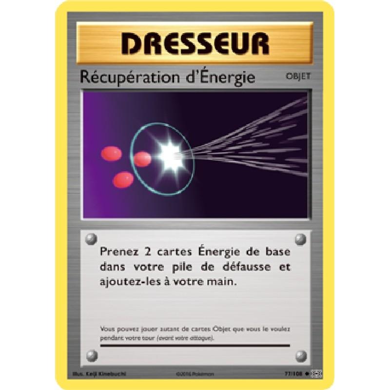 Récupération d'Énergie 77/108 Carte Pokémon™ Dresseur Neuve VF