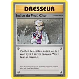 Indice du Prof. Chen 84/108...