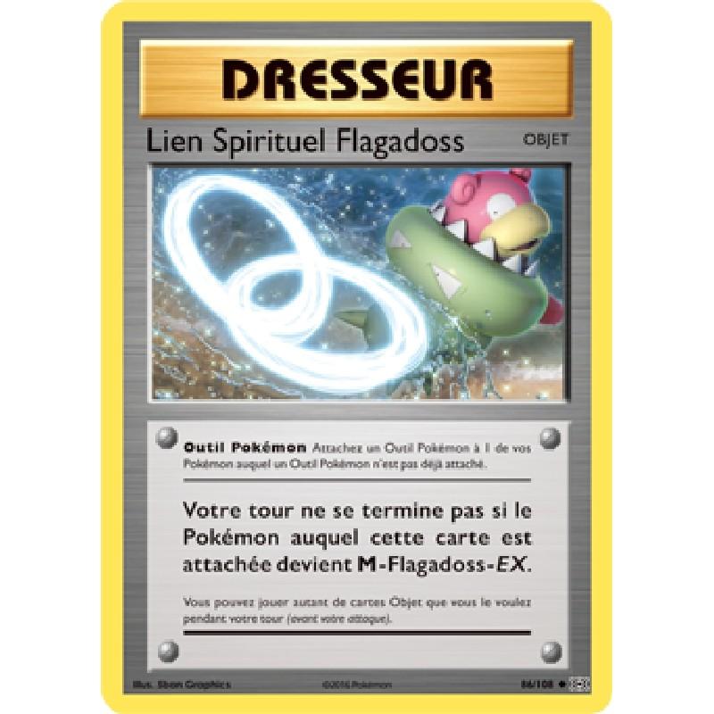 Lien Spirituel Flagadoss 86/108 Carte Pokémon™ Dresseur Neuve VF