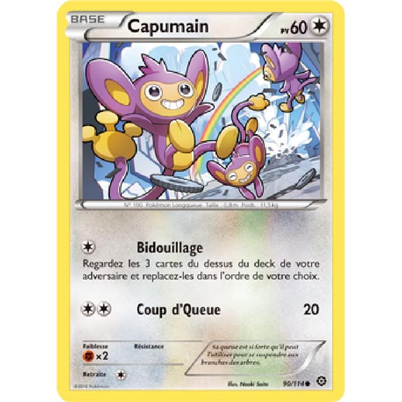 Capumain 90/114 PV60 Carte Pokémon™ commune neuve VF
