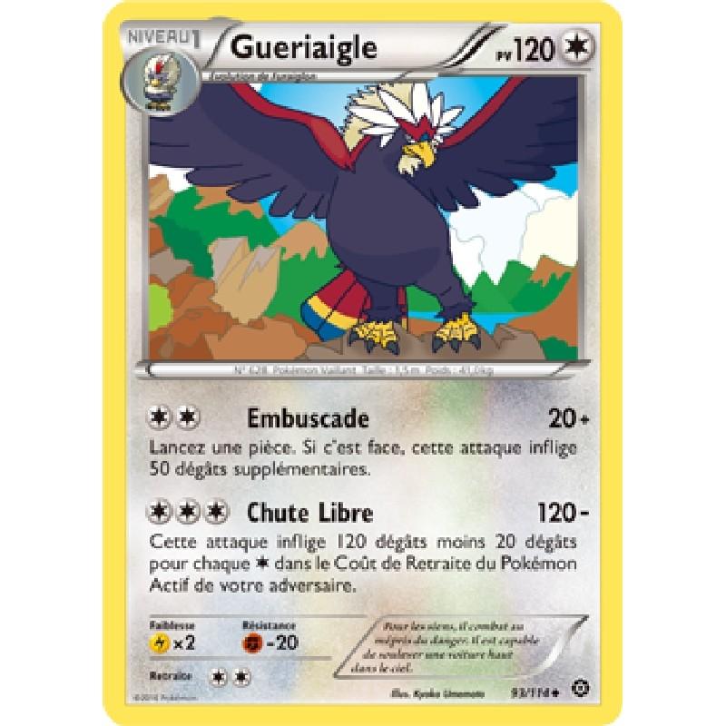 Gueriaigle 93/114 PV120 Carte Pokémon™ peu commune VF