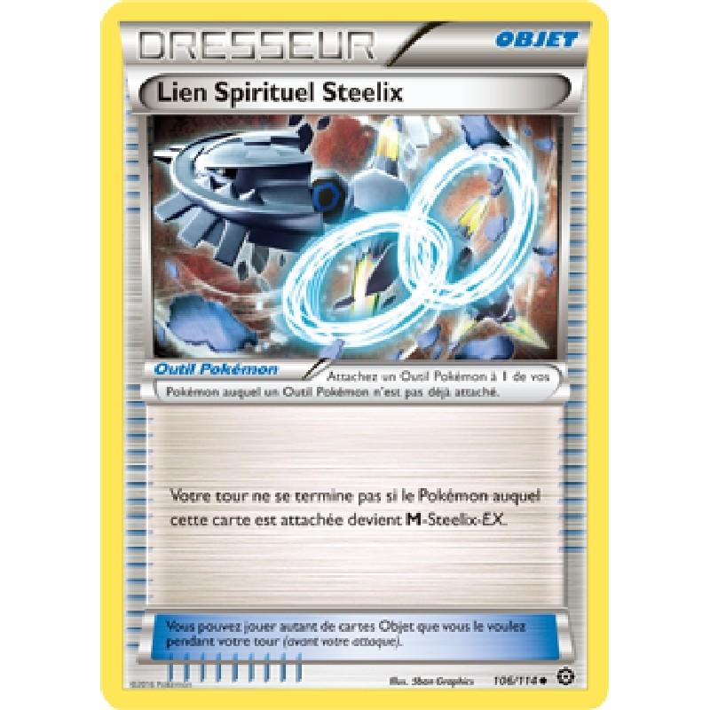 Lien Spirituel Steelix 106/114 Carte Pokémon™ dresseur VF
