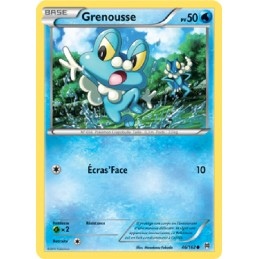 Grenousse 46/162 PV500 Carte Pokémon™ commune neuve VF