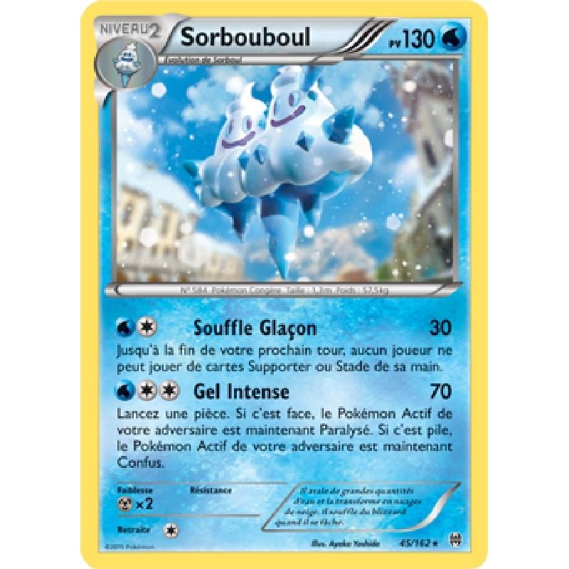 Sorbouboul 45/162 PV130 Carte Pokémon™ rare neuve VF