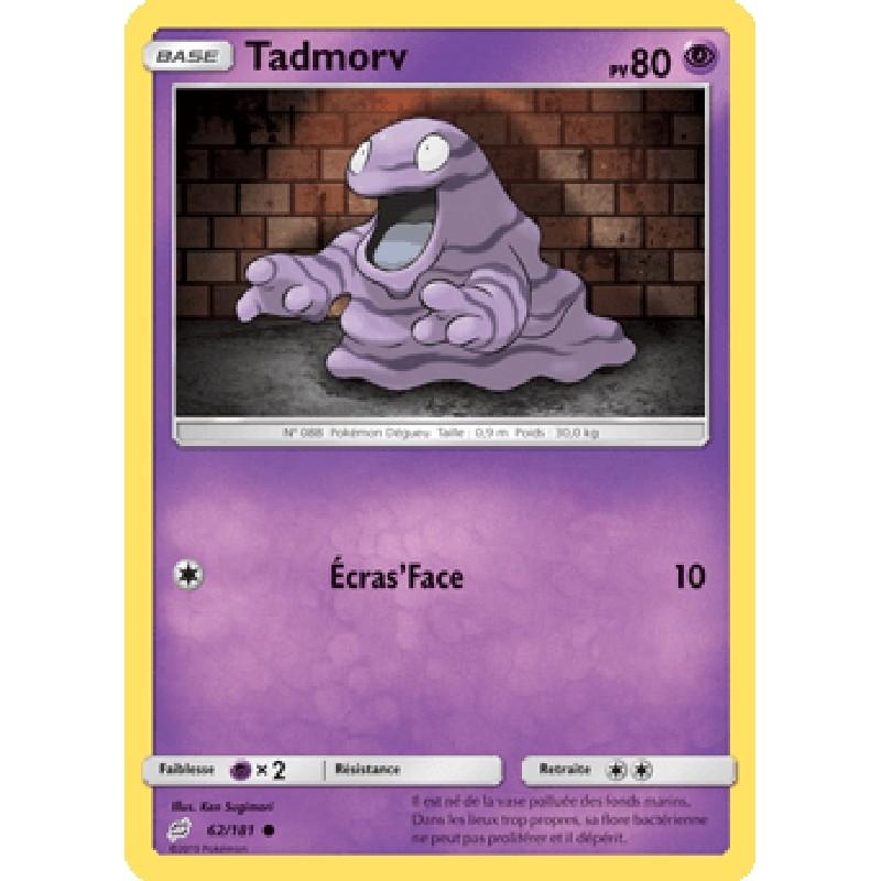 Tadmorv 62/181 PV80 Carte Pokémon™ commune Neuve VF