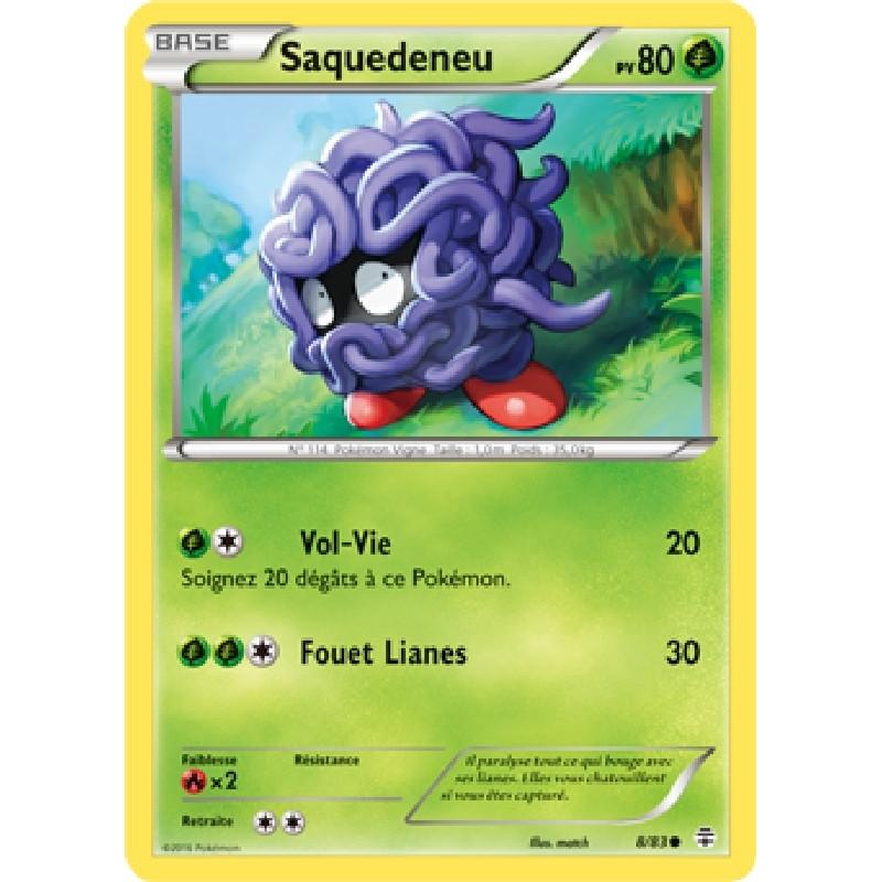 Saquedeneu 8/83 PV80 Carte Pokémon™ commune neuve VF