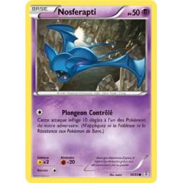 Nosferapti 30/83 PV50 Carte Pokémon™ commune neuve VF