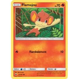 Flamajou 22/147 PV70 Carte Pokémon™ commune Neuve VF