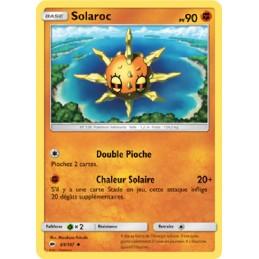 Solaroc 69/147 PV90 Carte Pokémon™ peu commune Neuve VF