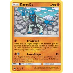 Karaclée 72/147 PV90 Carte Pokémon™ commune Neuve VF