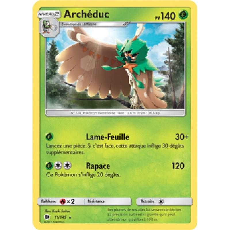 Archéduc 11/149 PV140 Carte Pokémon™ rare neuve VF
