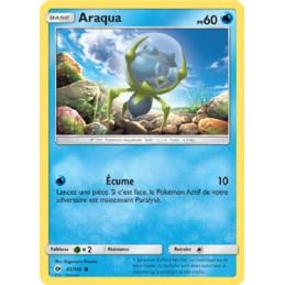Araqua 45/149 PV60 Carte Pokémon™ commune neuve VF